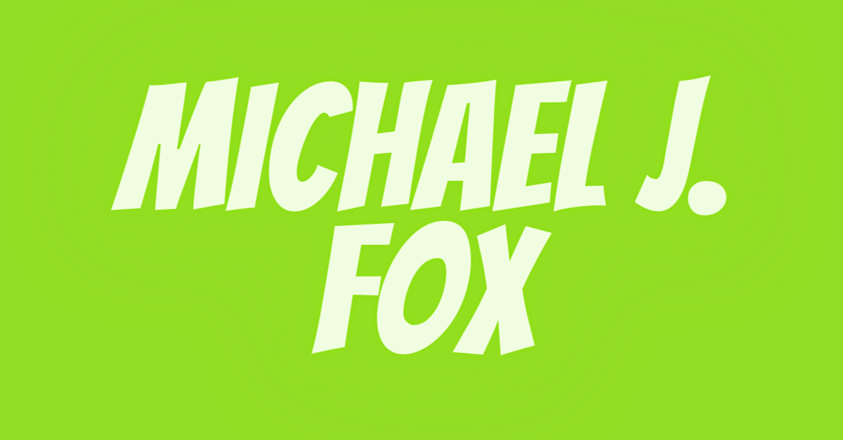 Michael J. Fox, #1 USA Cannabidiol Blog