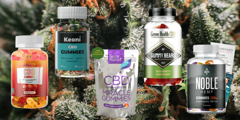 Top 5 – The Best CBD Gummies To Help With Pain, Anxiety, Sleep Disorders & More